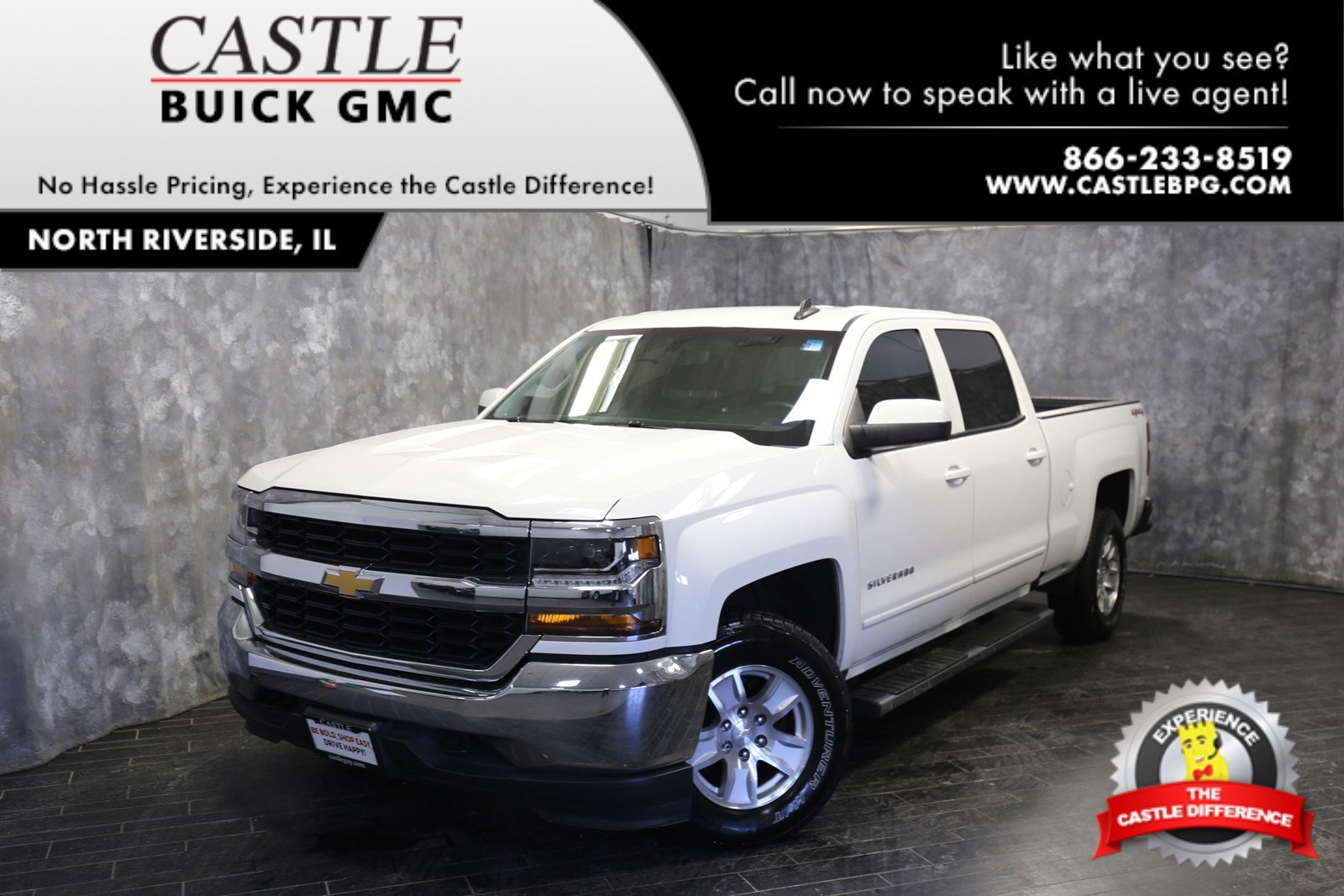 Pre Owned 2017 Chevrolet Silverado 1500 Lt Crew Cab Pickup In North